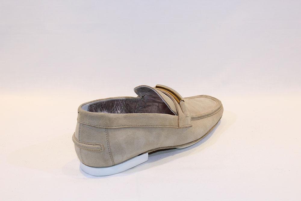 Miguel Vieira – Mocassin Camurça Bege Homem, Sapatos