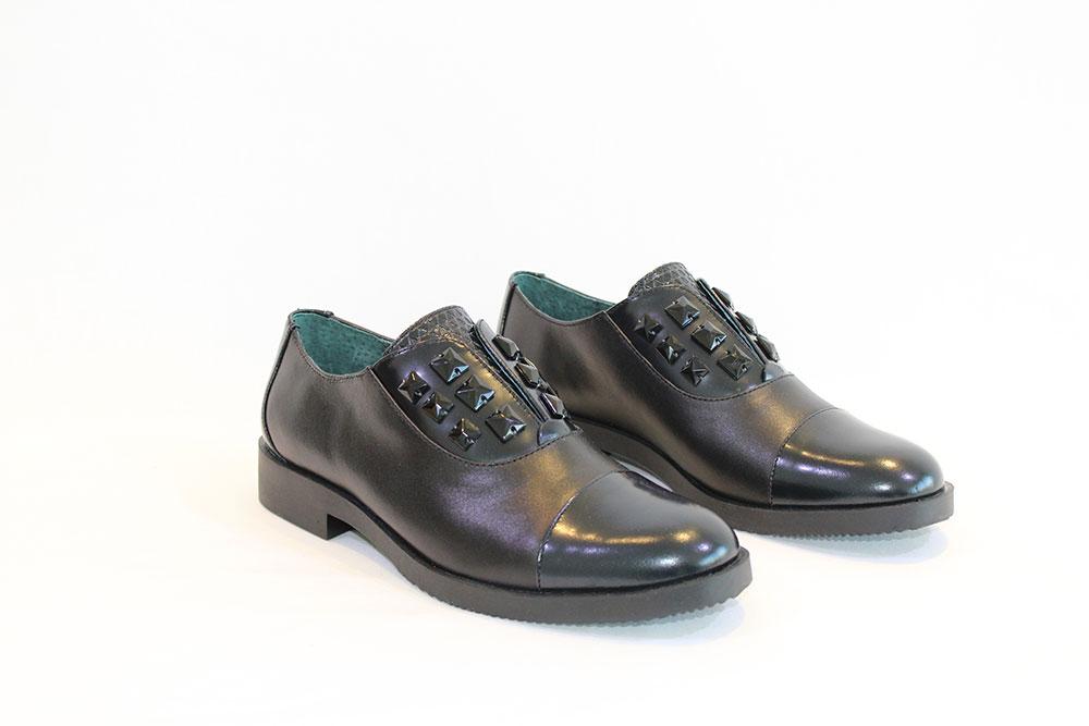 57306d2edf2 CAFE NOIR - black shoes w stones - Vissanti - Loja Online de Sapatos ...