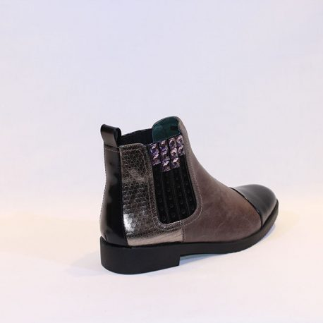 4222da1cdbc CAFE NOIR - grey boots w stones - Vissanti - Loja Online de Sapatos ...