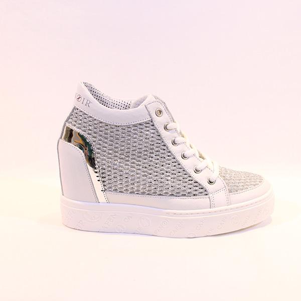 f3b545e18f1 CAFE NOIR - sneakers w white wedge - Vissanti - Loja Online de ...