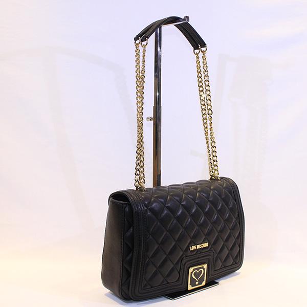 7b10a9e338e LOVE MOSCHINO - black handbag - Vissanti - Loja Online de Sapatos e ...